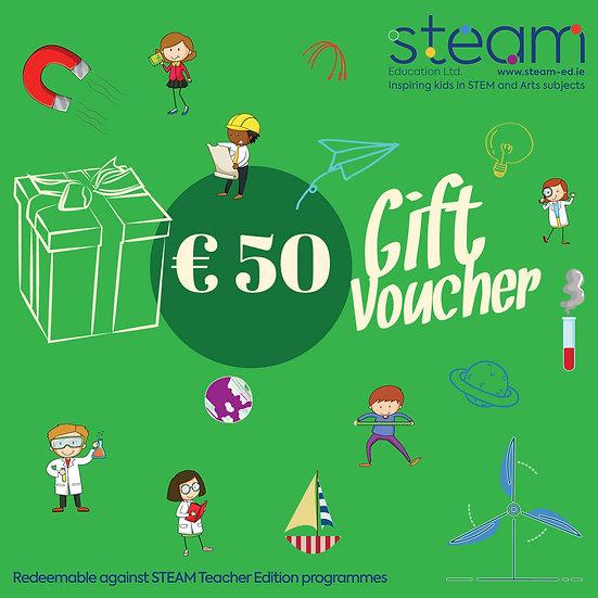 Gift Voucher: €50