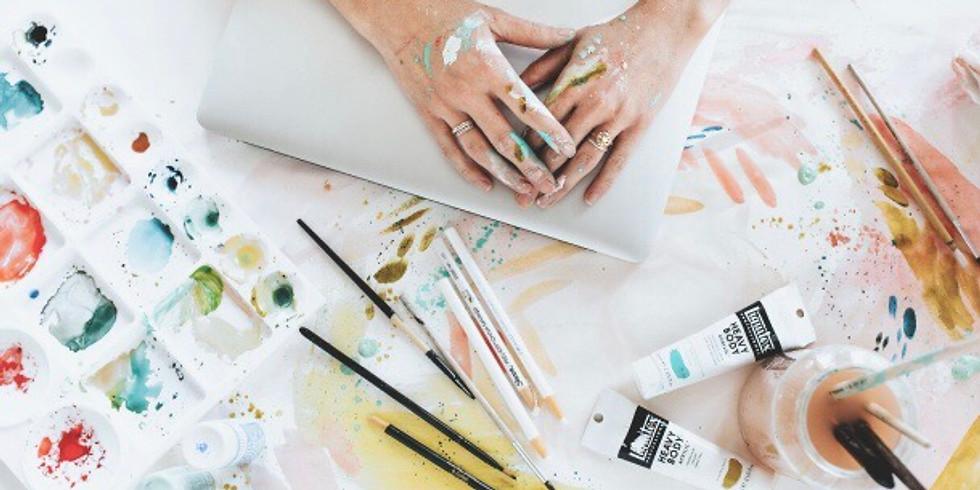 Make + Take (Art Workshop + Tea)