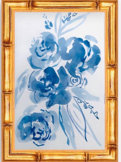 Blue China Memories (PRINT)