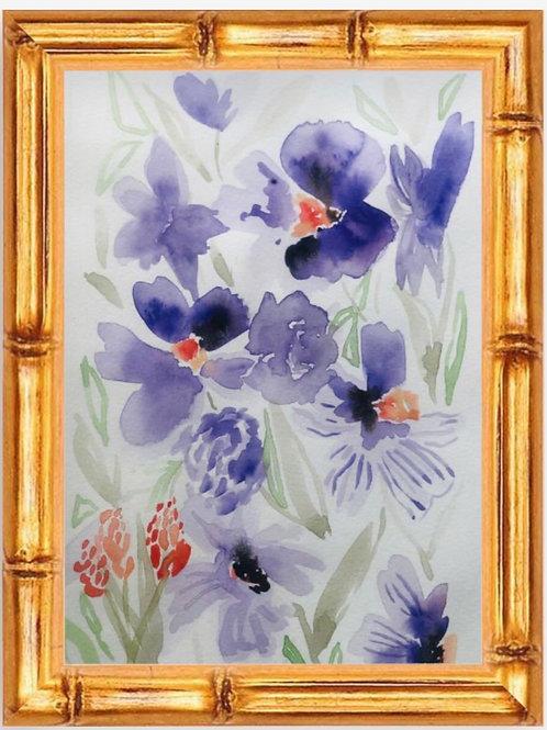 Violet Fields (PRINT)