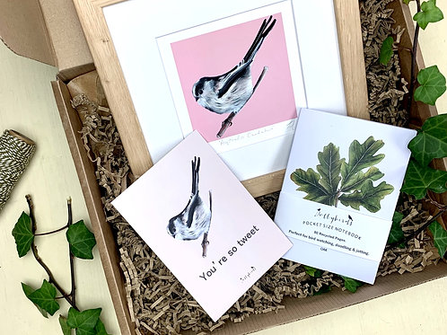 Long Tailed Tit Gift Box