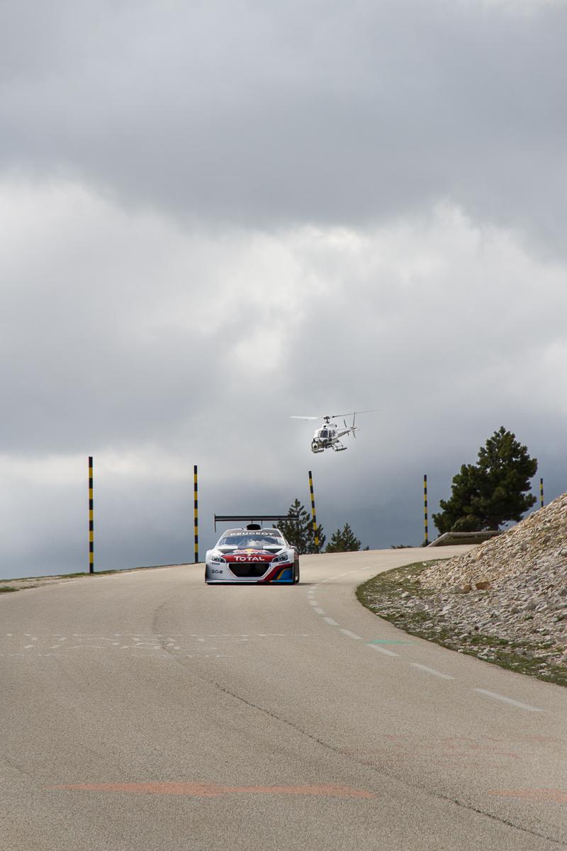 Sébastien Loeb en essai privé