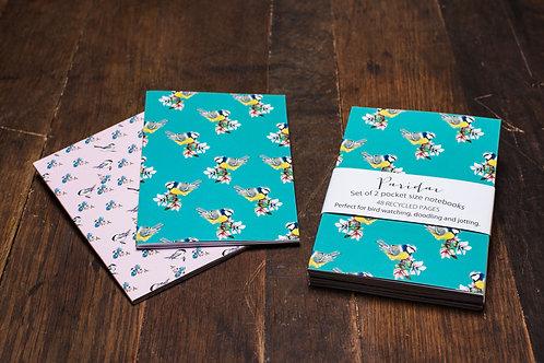 'Paridae' A6 Notebook set