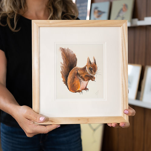 Original Painting | Squirrel