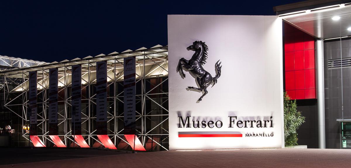 Maranello, musée Ferrari