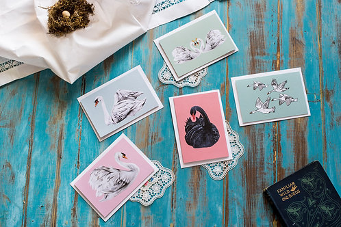 Swan card collection