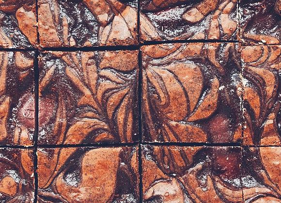 Cherry pie + lotus biscuit brownies