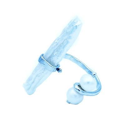 White Hina Ring