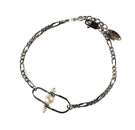 Freshwater peal chain bracelet