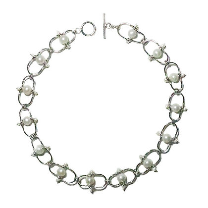 Pearl choker by Middle M