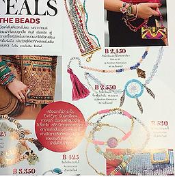 Dreamcatcher stone handmade bracelet, bead bracelet for vacation