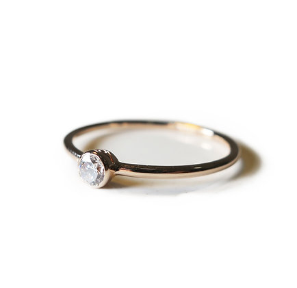Simple thin ring, Classic ring