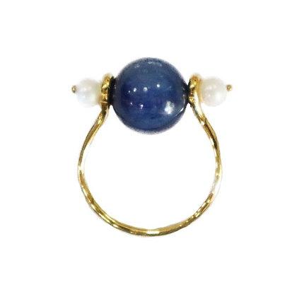 Blue Alpha Ring