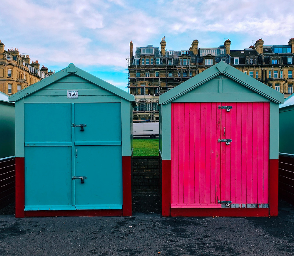 Brighton beach cabins