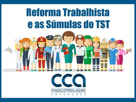 TST vai discutir alteração de súmulas para adequação à reforma trabalhista.