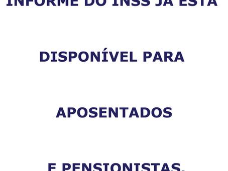 IR 2021: Informe do INSS já está disponível para aposentados e pensionistas.