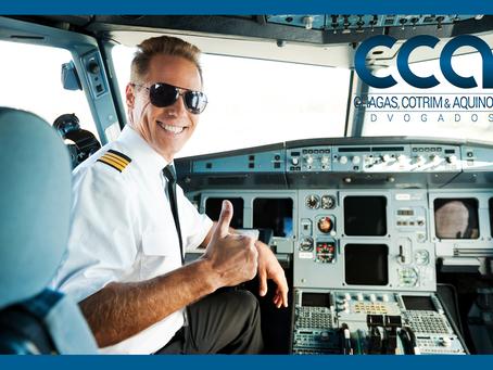 Piloto de avião tem direito a contagem de tempo especial.