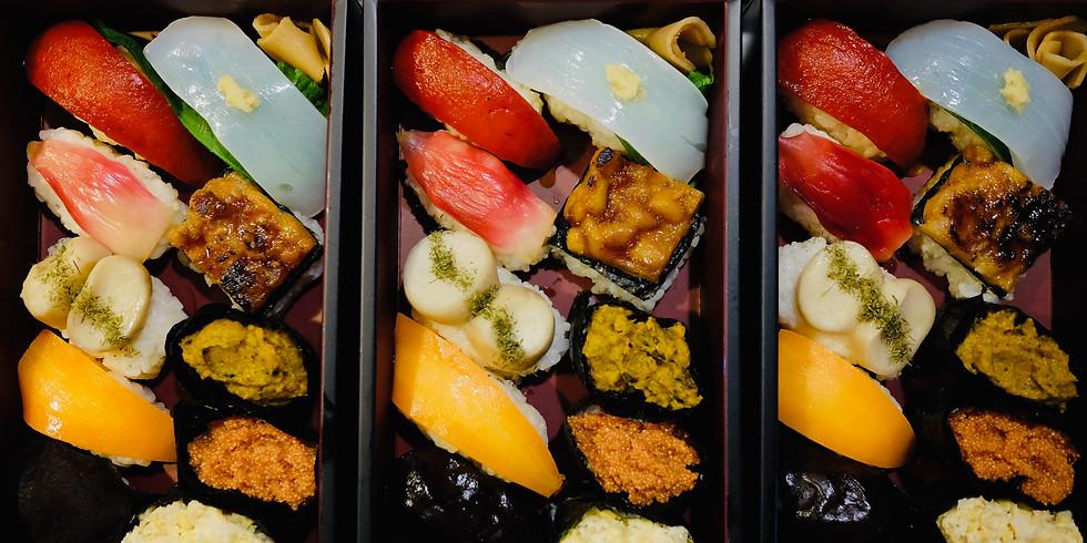 マクロビオティッククッキング「彩り華やか野菜寿司」