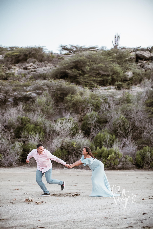 Funny Couple Shoot Aruba