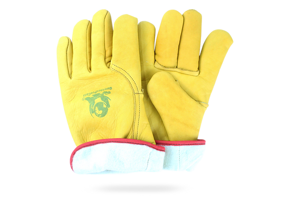 "LEATHER GLOVES TYPE ""ProCasi"" GAM WITH LINING"