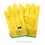 Thumbnail: COWHIDE AND SPLIT COWHIDE LEATHER GLOVE