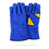 Thumbnail: BLUE GLOVE FOR WELDER W/ DETAILS IN YELLOW