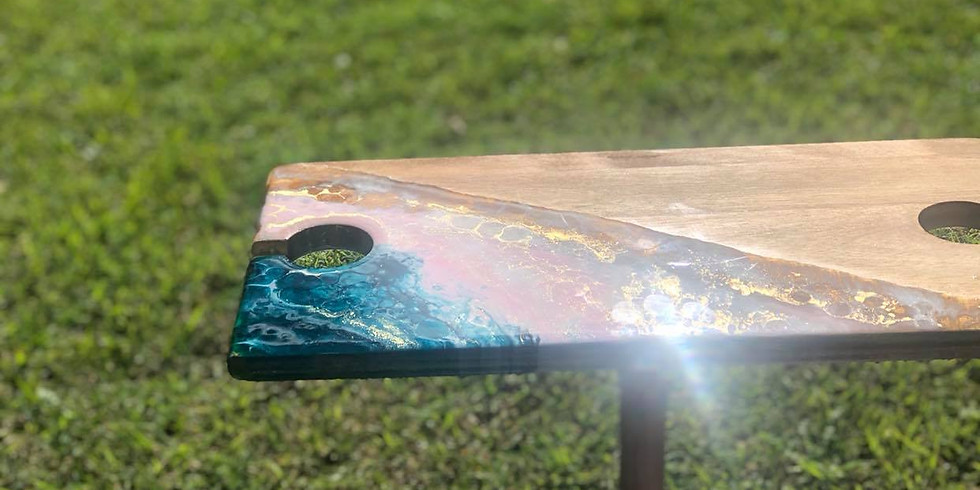 Kenmore Fiori- Learn to make a resin picnic table for 2 (1)