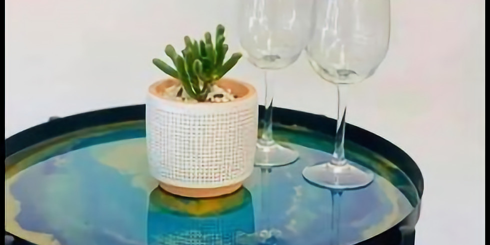 KENMORE - FIORI - Learn to make a resin tray table