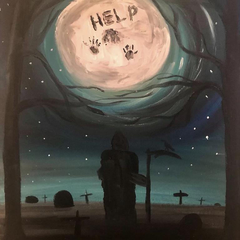 Wacol - Wolston Park Golf Club - Paint 'n' Paranormal