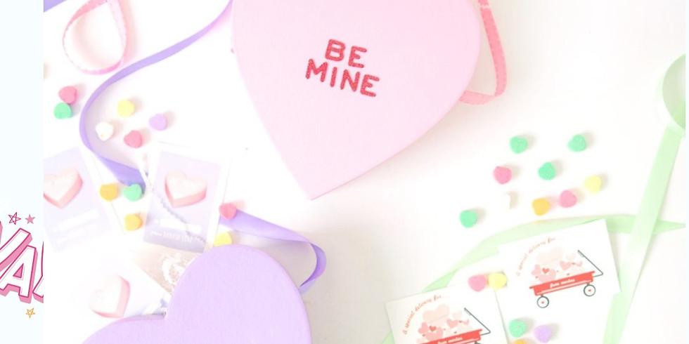Conversation Heart Valentines Day Box