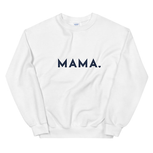 MAMA ♡ Sweatshirt in White