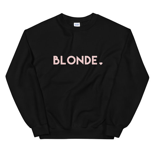 Blonde ♡ Sweatshirt