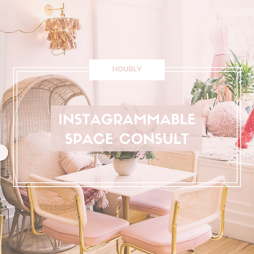 Instagrammable Interior Design Consult