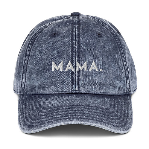 MAMA♡ Denim Hat