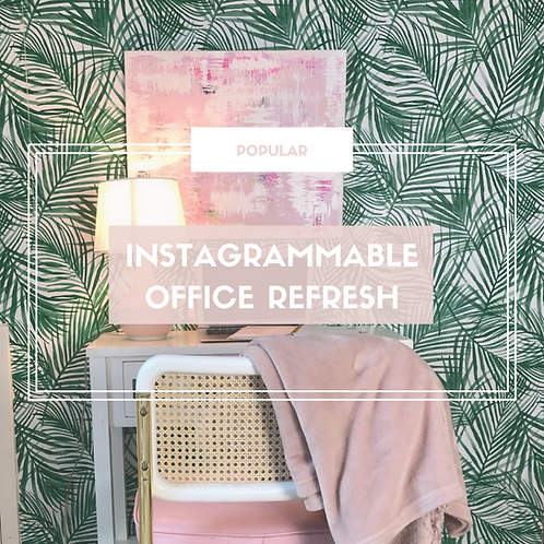 Instagrammable Wall Refresh
