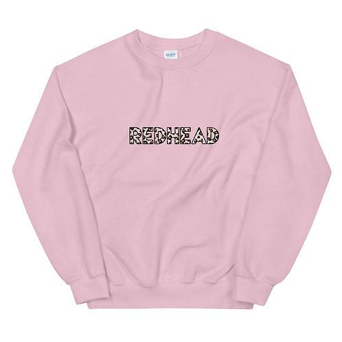 Leopard Redhead Sweatshirt (3 color ways)