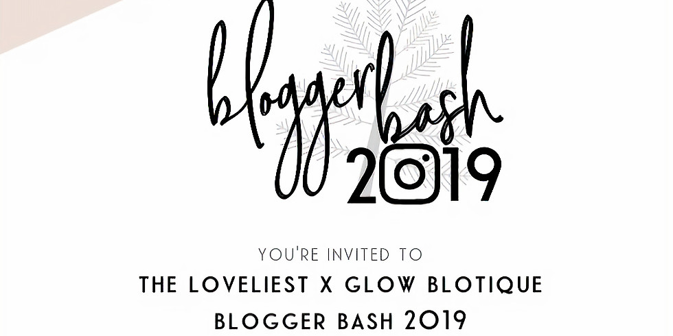 Blogger Bash 2019