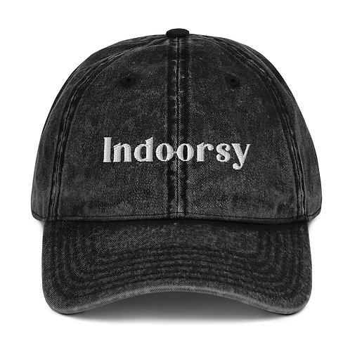 Indoorsy Denim Hat