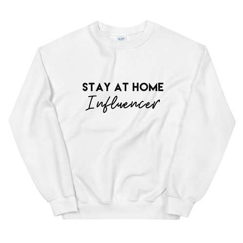 Stay At Home Influencer in White