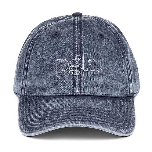 PGH Vintage Denim Hat
