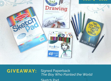 Giveaway: The Boy Who Painted the World plus Art Supplies