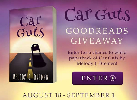 Giveaway: Car Guts Paperback