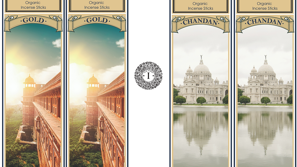 Gold and Chandan : The IVAR Value Saver Combo Packs of 2 Fragrances in 1