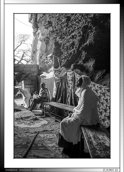 8 18 Mujer ortodoxa rezando durante la Genna Lalibela Etiopia 2016