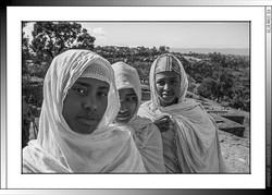 9 06 Peregrinas celebrando  la Genna Lalibela Etiopia 2016