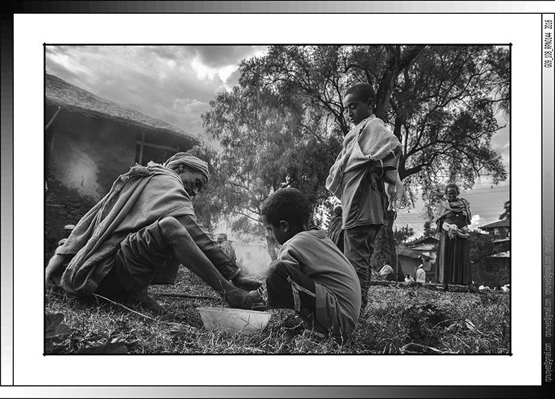 8 08 Acogida de peregrinos en Lalibela Etiopia 2016