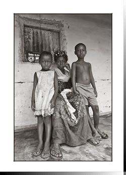 116 María Mané con sus hijos