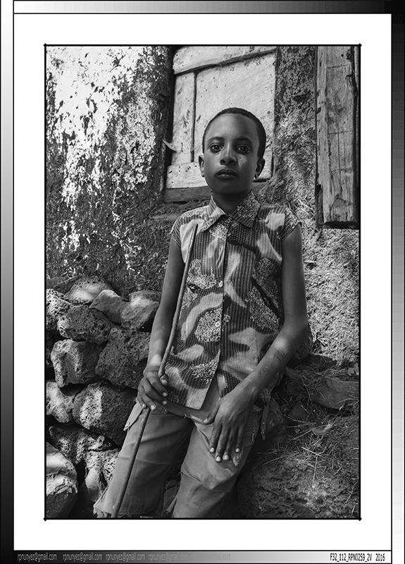 6 08 Pastorcillo en Zege Etiopia 2016
