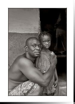 125 Lassana Djafá, el filántropo de Gambasse, con Matá