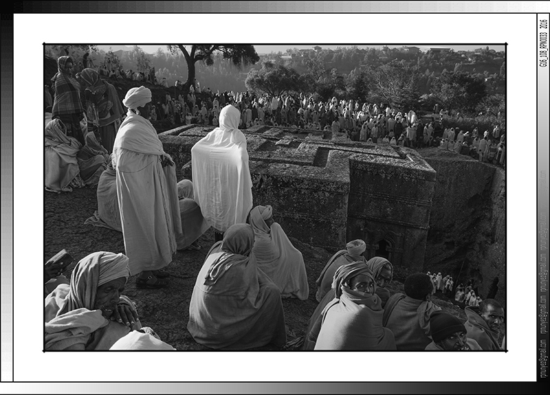 9 02 Bete Giorgis  durante la Genna Lalibela Etiopia 2016